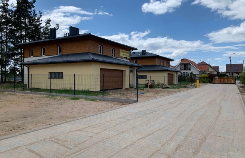 Dom wolnostojący Wasilków ul. Sportowa Campo Osiedla 4